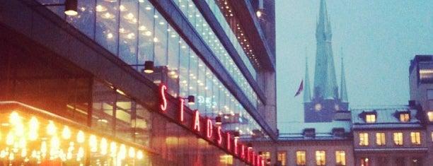 Kulturhuset is one of stockholm musts.