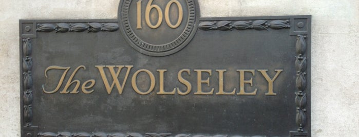 The Wolseley is one of Can I have a drink?.