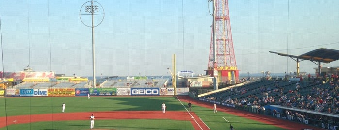 MCU Park is one of NYC Sporting Venues.