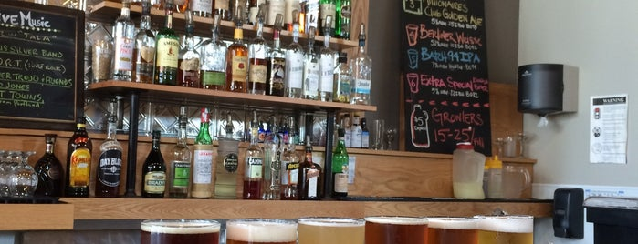 Day Block Brewing Company is one of Businesses & stores supporting Sunday liquor sales.