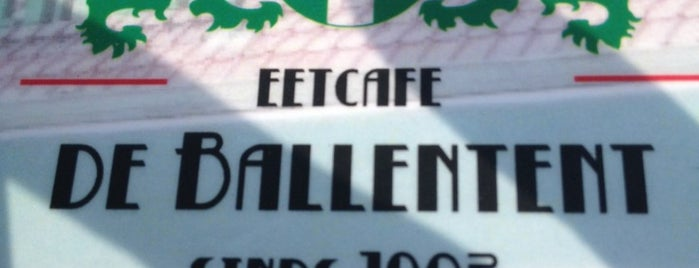 De Ballentent is one of #010 op z'n #Rotterdamst.