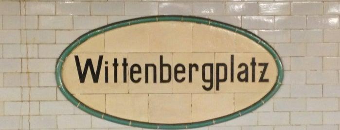 U Wittenbergplatz is one of U-Bahn Berlin.
