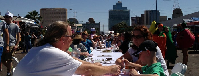 Feast On The Street is one of PHX Parks in The Valley.