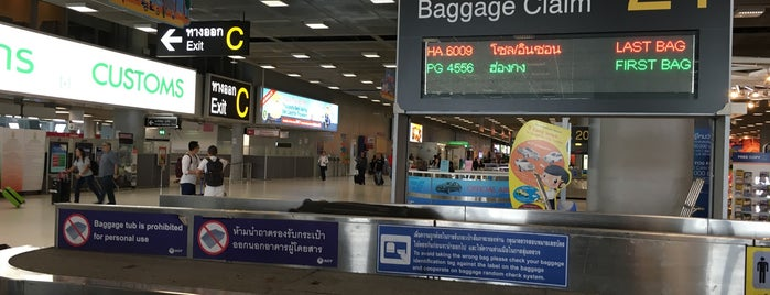 Baggage Claim 21 is one of TH-Airport-BKK-1.