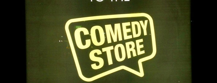 The Comedy Store is one of The Entertainment Quarter.