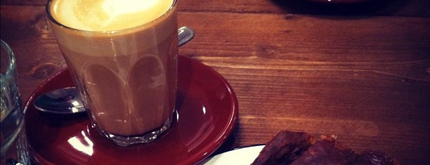 Ginger and White is one of 100+ Independent London Coffee Shops.