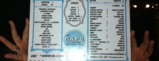 El Cafe is one of restos.
