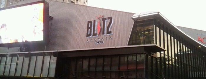 赤坂BLITZ is one of ライブハウス.