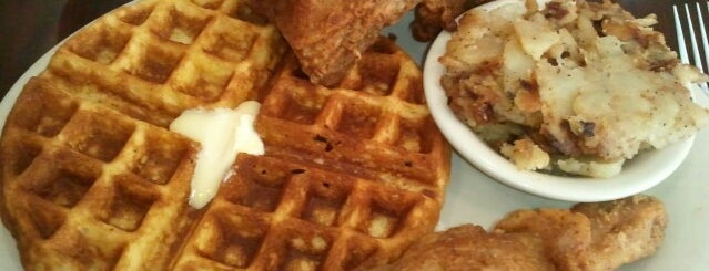 Thelma's Chicken & Waffles is one of Roanoke Restaurants I recommend.