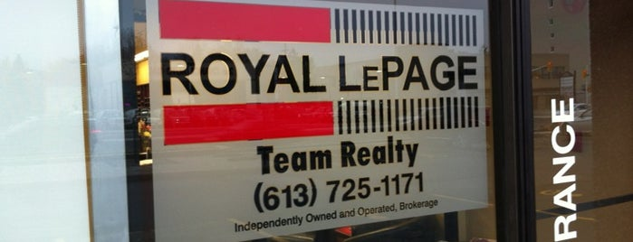 Royal LePage Team Realty is one of Ottawa.
