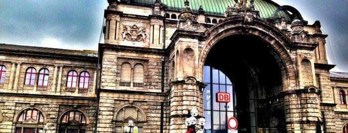 Nürnberg Hauptbahnhof is one of Ausgewählte Bahnhöfe.