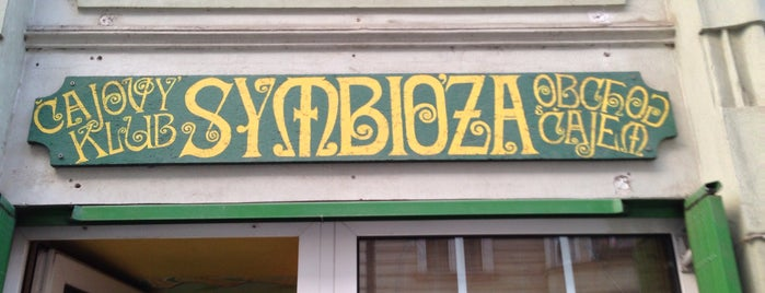 Čajovna Symbioza is one of Pražské čajovny.