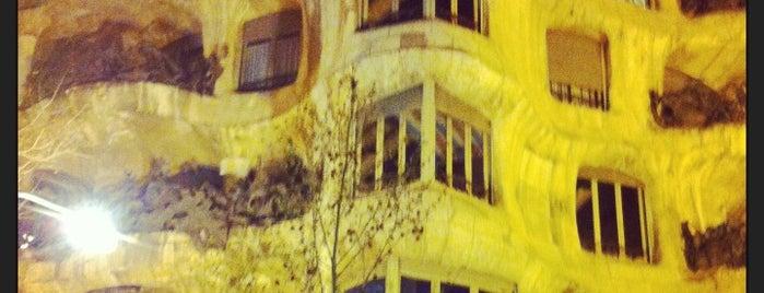 La Pedrera is one of 36 hours in...Barcelona.