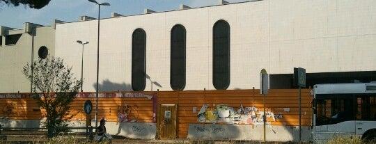 Metro Monte Compatri-Pantano (MC) is one of Muoversi a Roma.