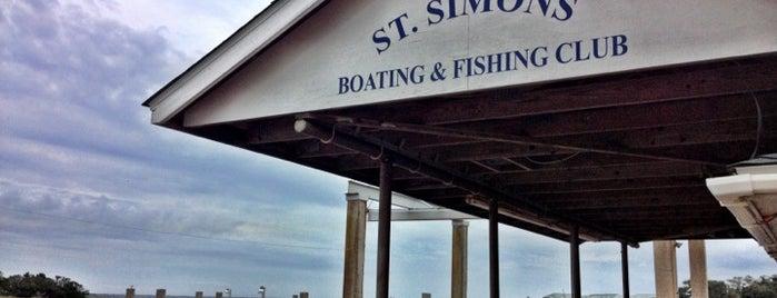St. Simons Boating & Fishing Club is one of Georgia Beach Rentals.