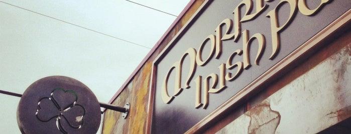 Morrissey's Irish Pub is one of BMAG's Pubs.