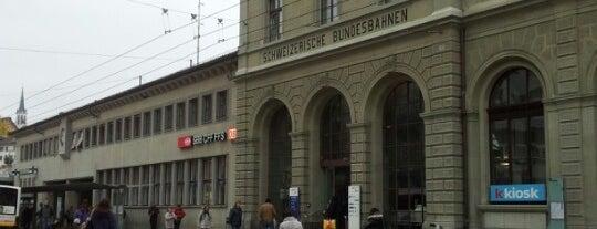 Bahnhof Schaffhausen is one of Bahnhöfe Top 200 Schweiz.