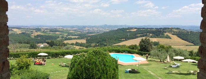 Santo Pietro is one of Best places in San Gimignano, Italia.