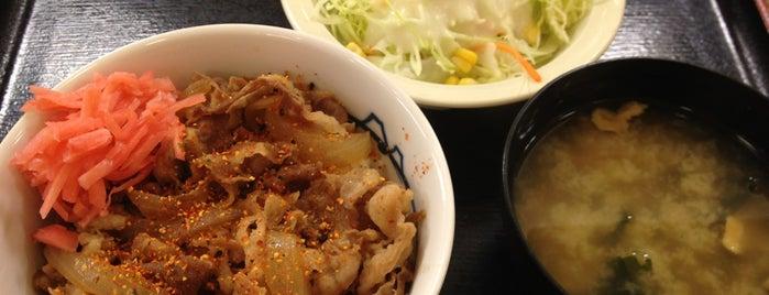 松屋 池上店 is one of ファーストフード.