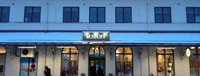 Mjölby station is one of Tågstationer - Sverige.