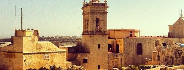 The Citadel is one of Malta Cultural Spots.