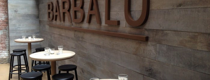 Barbalu is one of manhattan restaurants.