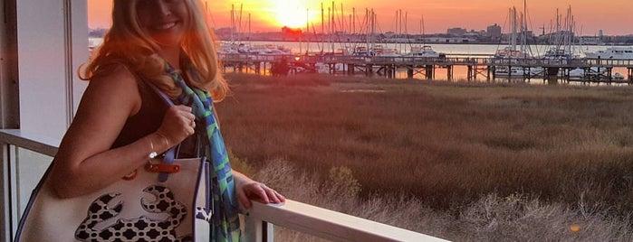 Charleston Harbor Resrt/Marina is one of my charleston places.