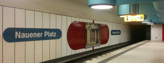 U Nauener Platz is one of U-Bahn Berlin.