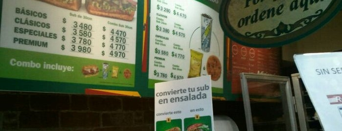 Subway is one of Recomendados.