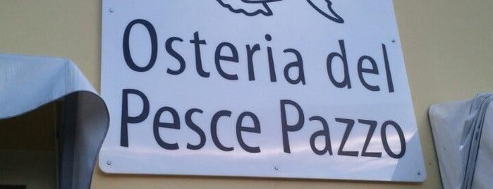 Osteria Del Pesce Pazzo is one of Modna.