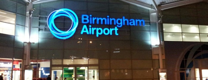 Birmingham Airport (BHX) is one of Airports visited.