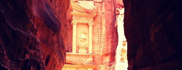 Petra البتراء is one of Attractions to Visit.