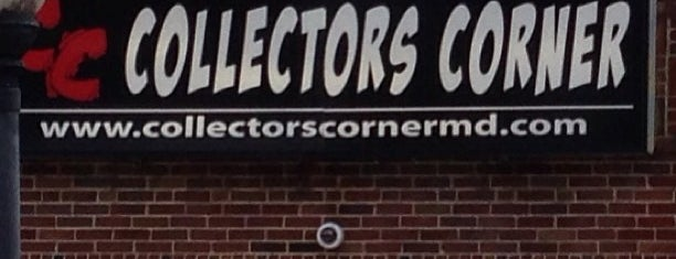 Collectors Corner is one of The Great Baltimore Check-In.