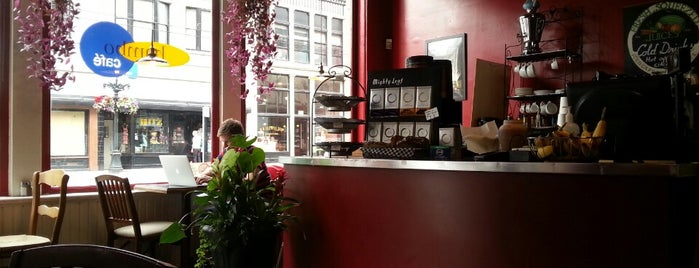 Bambo Cafe is one of Vancouver.