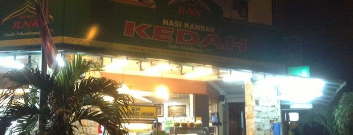 Nasi Kandar Kedah is one of F&B.