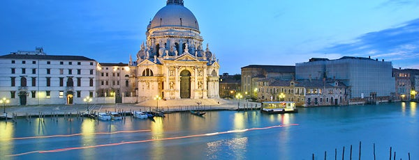 Basilica di Santa Maria della Salute is one of Venezia sights.