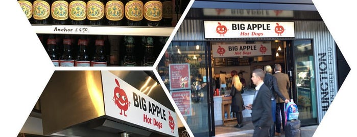 Big Apple Hot Dogs is one of London Cheap Eats.