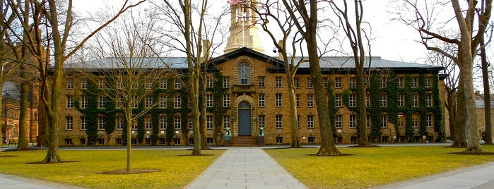 Nassau Hall is one of Inspired locations of learning.