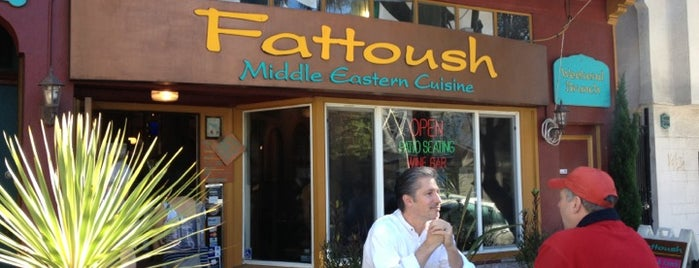 Fattoush is one of 2012 Restaurants.