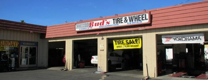 Bud's Moreno Valley Tire Pros is one of mo val car services.