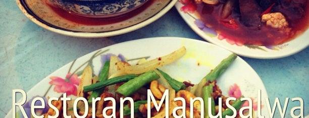 Restoran Mannusalwa is one of My Favorites.