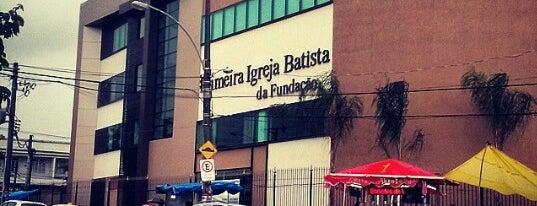 Primeira Igreja Batista da Fundação is one of Minha lista.