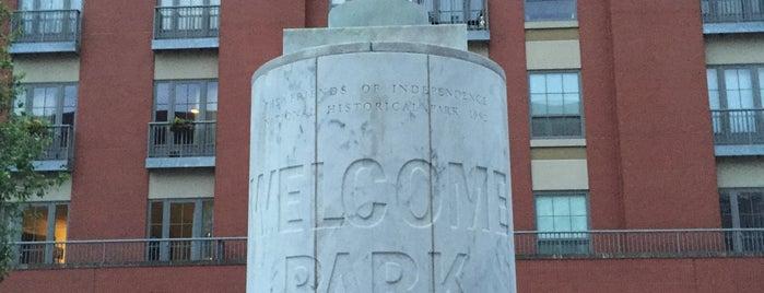 Welcome Park is one of Public Art in Philadelphia (Volume 3).