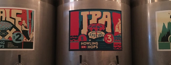 Howling Hops Tank Bar is one of East London.