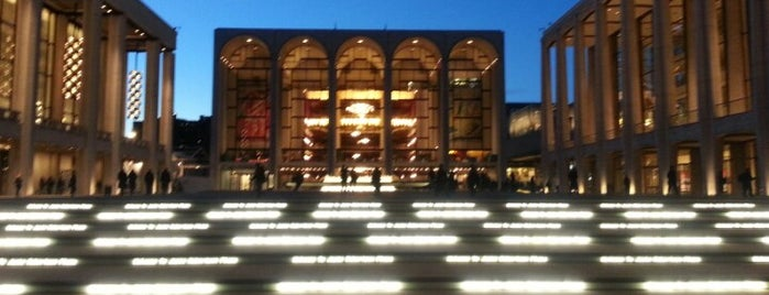 Lincoln Center for the Performing Arts is one of Andy's NY To-Do List.