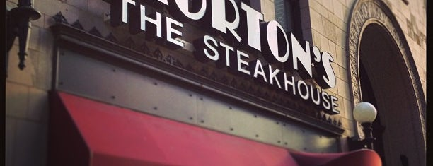 Morton's The Steakhouse is one of Restaurantes.