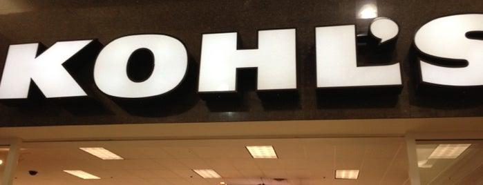 Kohl's is one of Places I Like : ).