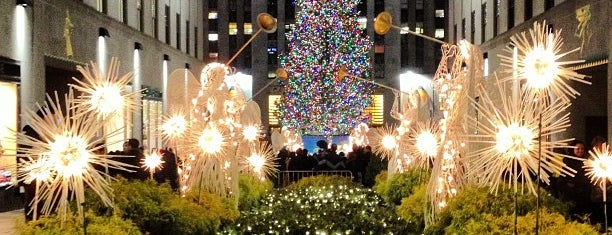 Rockefeller Center Christmas Tree is one of vagabond weekend.