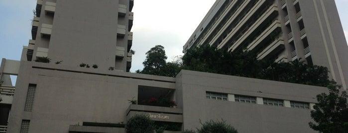 Mahitaladhibesra Building is one of Chulalongkorn University.