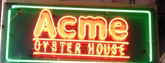 Acme Oyster House is one of Fave Foodies.